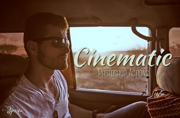 Cinematic Photoshop Actions Vol.3