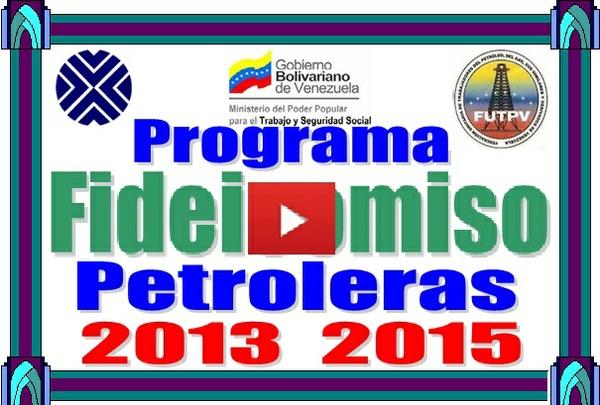 Fideicomiso Petrolero Programa de Cálculo 2013-2015