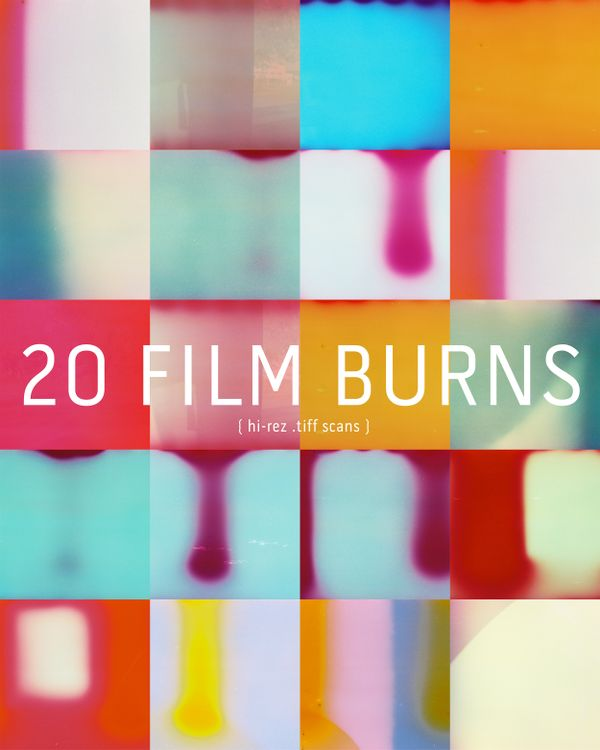 20 Hi-rez Film Burns