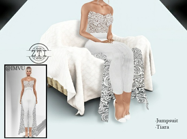 Jumpsuit Wedding Dress 341