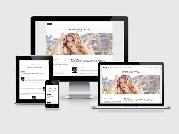 WordPress Theme #03 (Responsive)