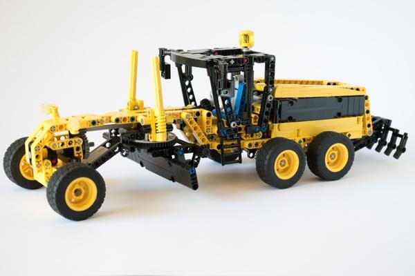 Lego Technic Grader MOC