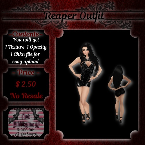 Reaper Outfit -- Catalog use ONLY!!!