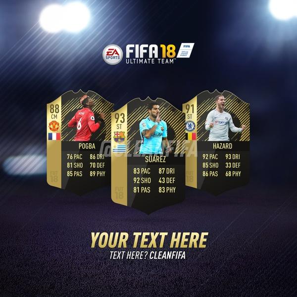 FIFA 18 Editable Instagram Template