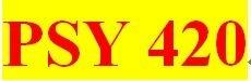 PSY 420 Week 1 participation Positive and Negative Reinforcement