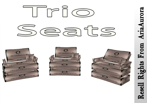 Trio Seats Mesh Catty Only!!!