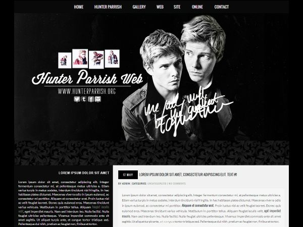 Wordpress premade #3