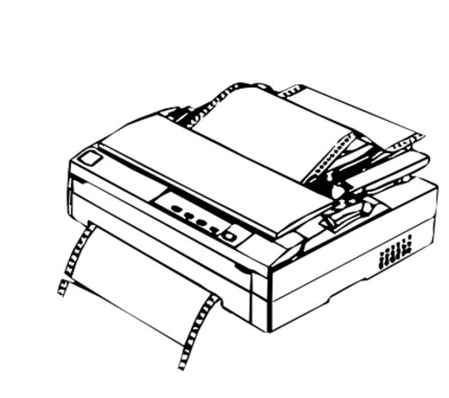Epson FX-880 9-Pin Impact Dot Printer Service Repair Manual