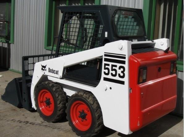 Bobcat 553 Skid Steer Loader Service Repair Manual DOWNLOAD ( S/N 520311001 , 520411001 & Above )