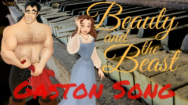 Beauty and the Beast - Gaston Waltz - Piano cover - Marco Tornatore