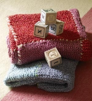 Country Squares Blanket