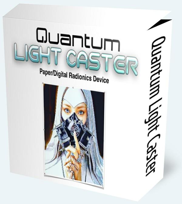 Quantum Light Caster (Paper/Digital Radionics Device)