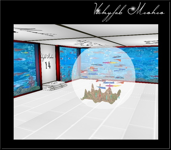 Under the Water Room Mesh