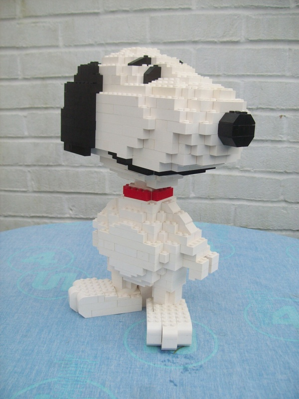 Instructions for Large Lego Snoopy