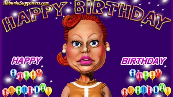 CC aka Crazy Cathy Singing Happy Birthday wishes
