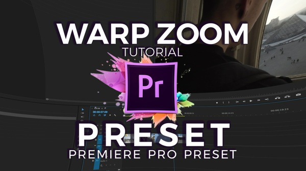 Warp Zoom Transition Presets for Adobe Premiere Pro CC