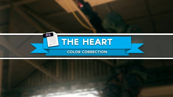 """""""The Heart"""" - Color Correction"""