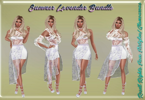 Summer Lavender Bundle Catty Only!!!
