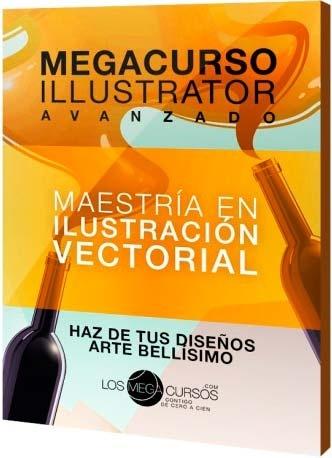 """Megacurso avanzado de Illustrator """"Maestría en Ilustración Vectorial"""""""
