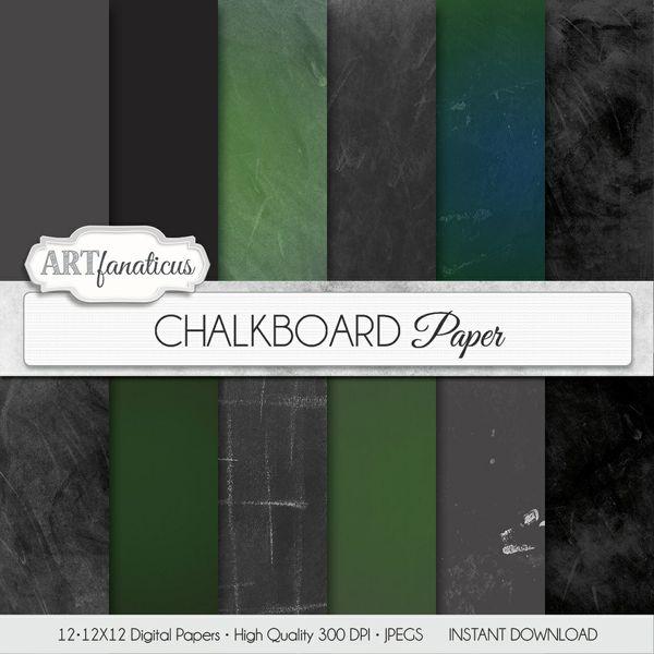 CHALKBOARD - DIGITAL PAPER