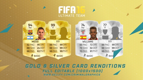 GOLD & SILVER CARD RENDITION