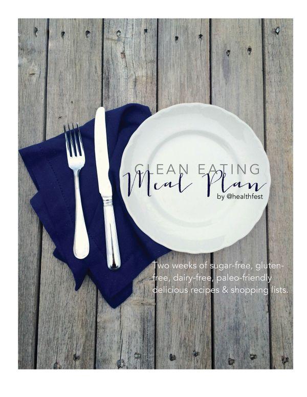 Clean Eating 2 Week Meal Plan