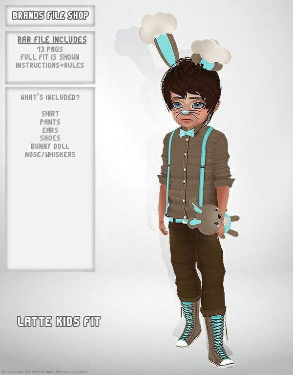 Latte Bunny Fit (Boy)