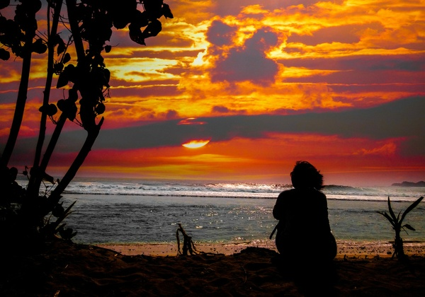 Beach Sunset Guided Relaxation and Meditation with Ocean Sounds mp3
