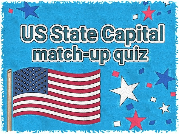 US STATE CAPITALS TEST