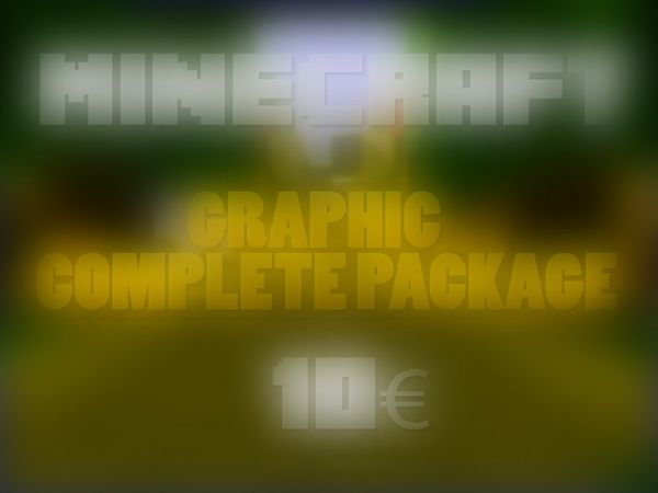 Minecraft: Graphic Complete Package