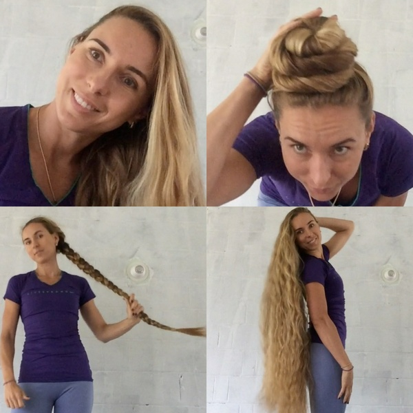 FREE VIDEO - Knee length braid waves