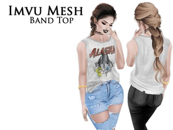 IMVU Mesh - Tops - Band Top