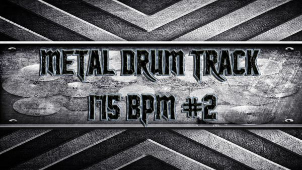 Metal Drum Track 175 BPM #2