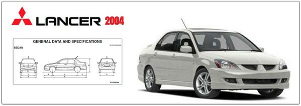 Mitsubishi Lancer & Lancer Wagon 2004 Factory Service Manual