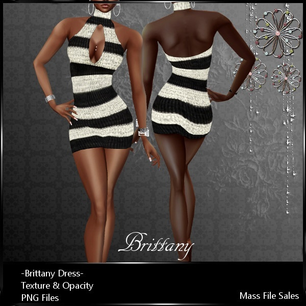 IMVU Clothing Textures Brittany Dress