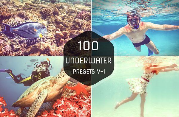 100 Underwater Lightroom Presets
