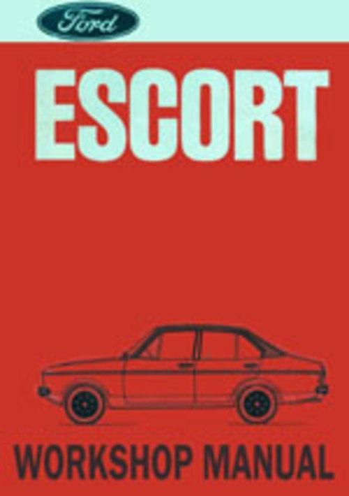 Ford Escort Mk II 1975 onwards Workshop Repair Manual