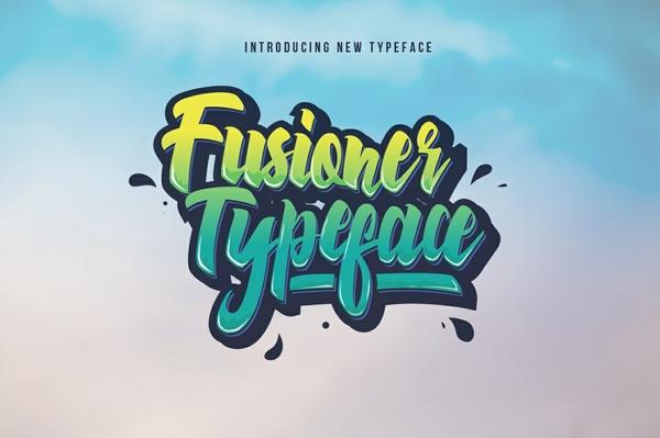 Fusioner Typeface (Intro Sale)