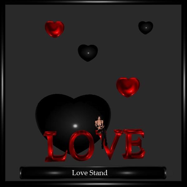 Love Stand Mesh
