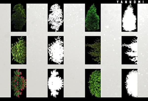 [ imvu room textures - plants opacity v.1 ]