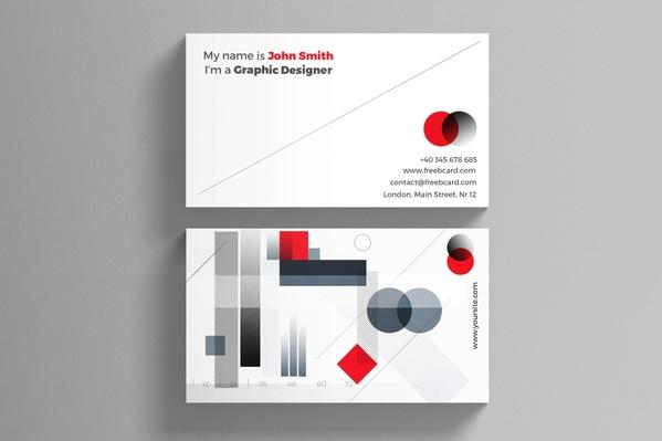 Creative Minimal Business Card Template