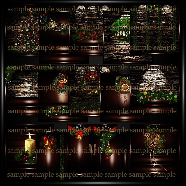 Christmas Textures Pack 9