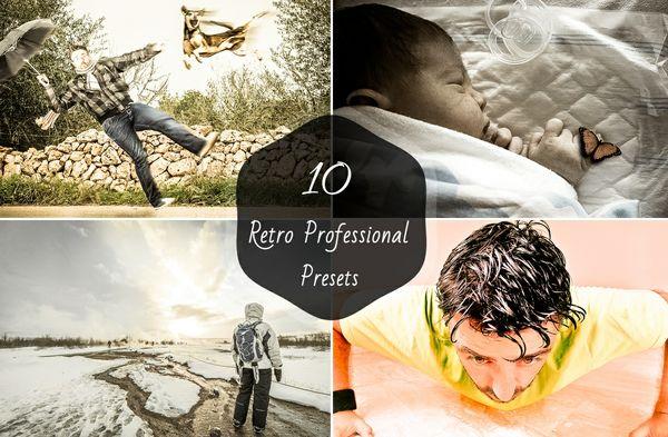 10 Retro Lightroom Presets