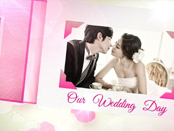 Blufftitler Template : Wedding Style 06