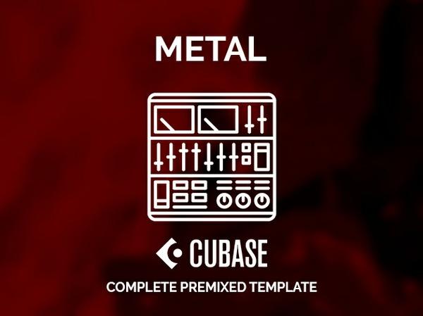 CUBASE PRE-MIXED TEMPLATE / Modern Metal