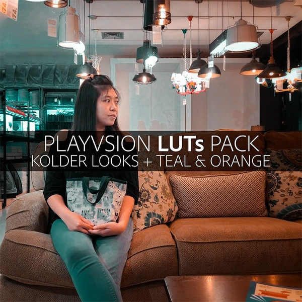 PLAYVSION LUTs Pack
