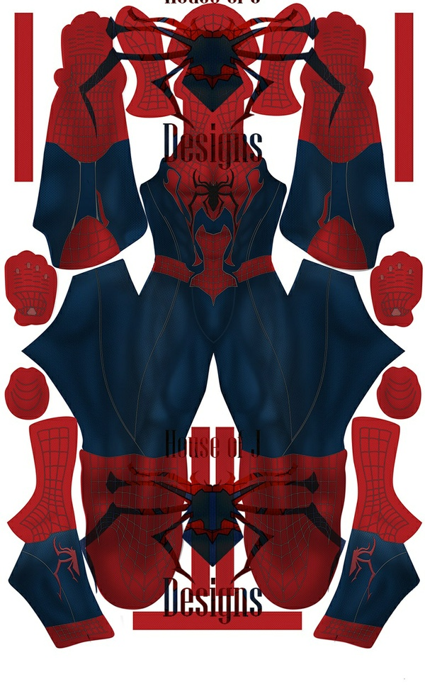 Spider-man (Concept 1) Pattern