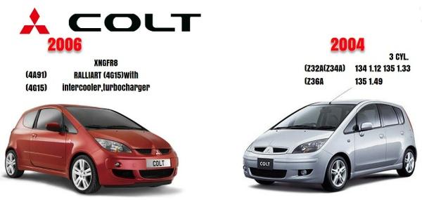 Mitsubishi Colt 2004 & 2006 Factory Service Manual