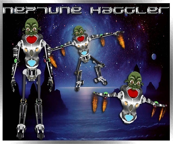 Neptune Haggler Limited Collection Resell Rights 0/6 People