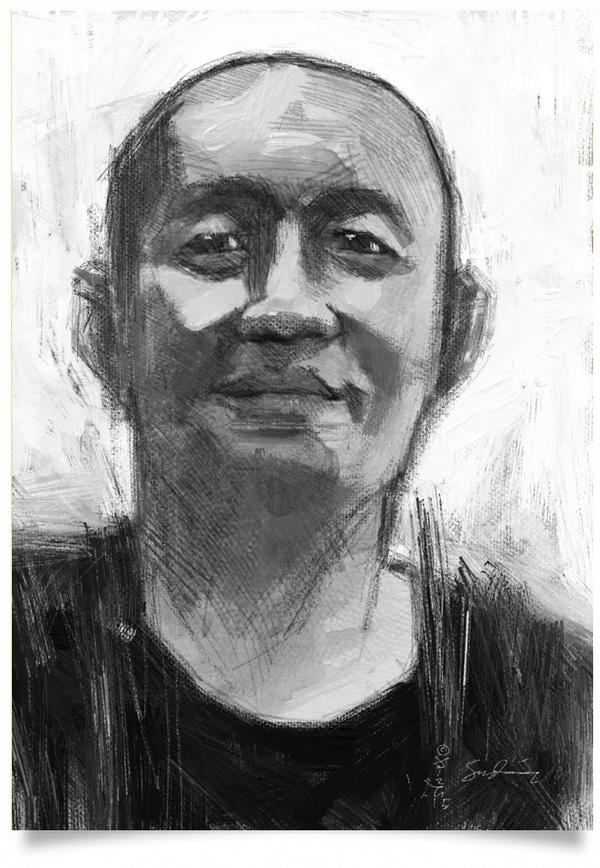 Mohd. Faisal - Portrait Drawing